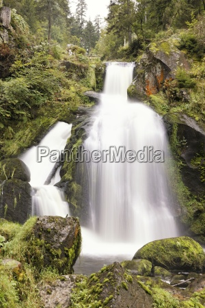 cascata foresta nera estremo energia idraulica