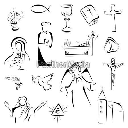 icone della religione