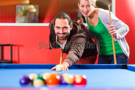 gioco giocato giocare biliardo tavolo da