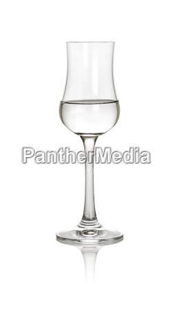 bicchiere opzionale acquavite acolici