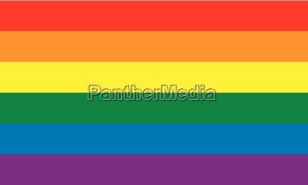 bandiera orgoglio gay omosessuale