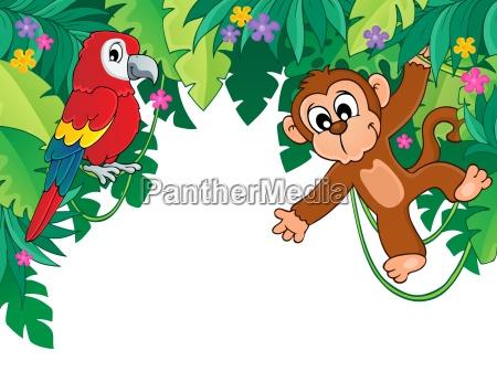 immagine con tema giungla 5