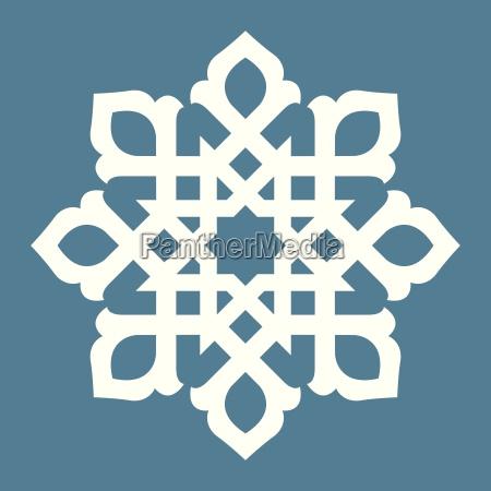ornamentale astratto decorativo modello vettore cartamodello