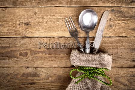 legno festa cibo pasto tela retro