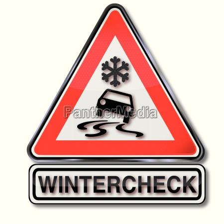 firma wintercheck per la tua auto