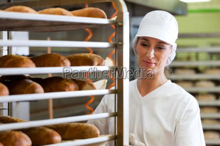 baker cottura del pane