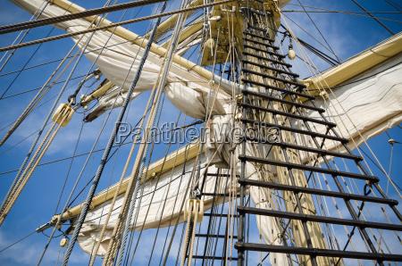 blocchi affronta barca a vela viaggio