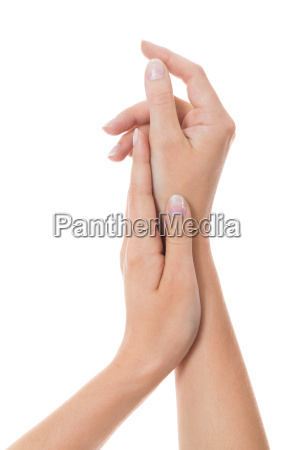 mano mani dito cura chiodo unghia