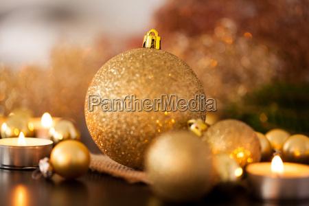 caldo oro e arancione decorazione di