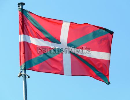 blu bandiera svolazzare regione territorio indipendenza