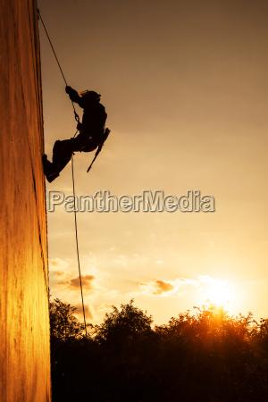 tramonto esercito soldato legge silhouette casco