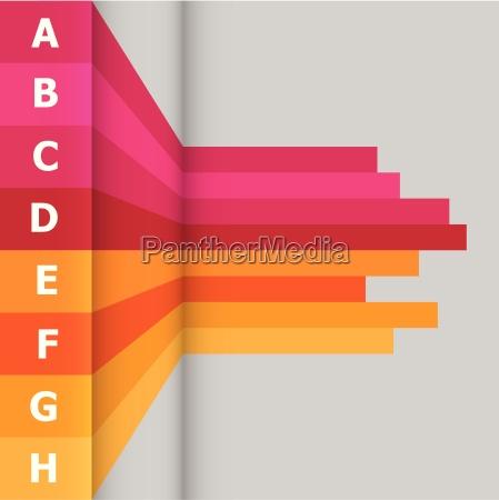 blu info presentazione progettazione concetto modello
