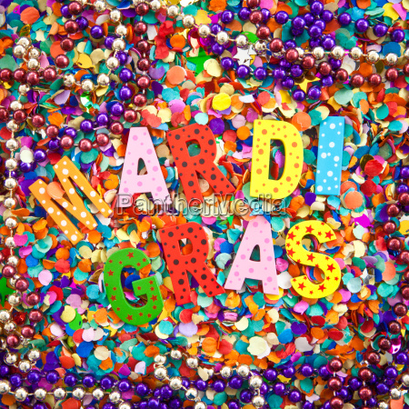 festa carnevale perle coriandoli
