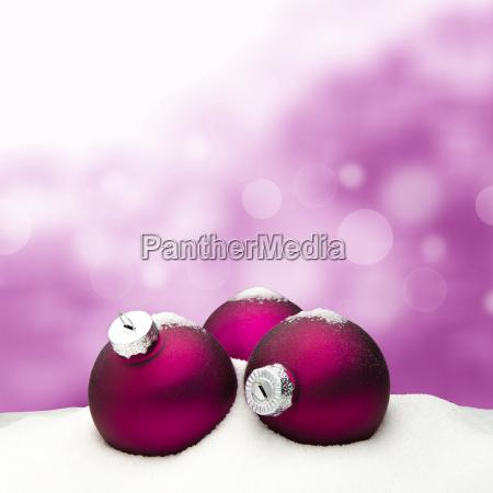christmas background christmas ornament pink