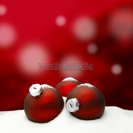 christmas background christmas ornament red