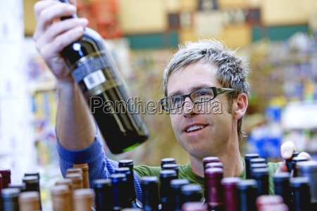lo shopping per il vino in