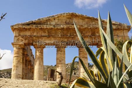 sito archeologico di segesta delle antiche