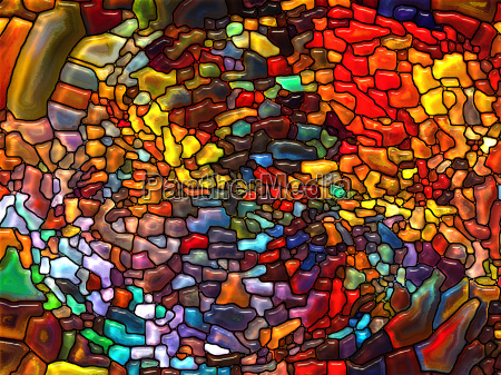 paths of stained glass