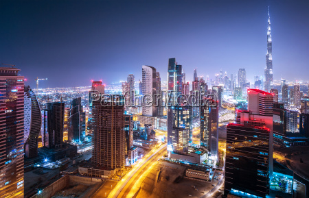 beautiful night cityscape