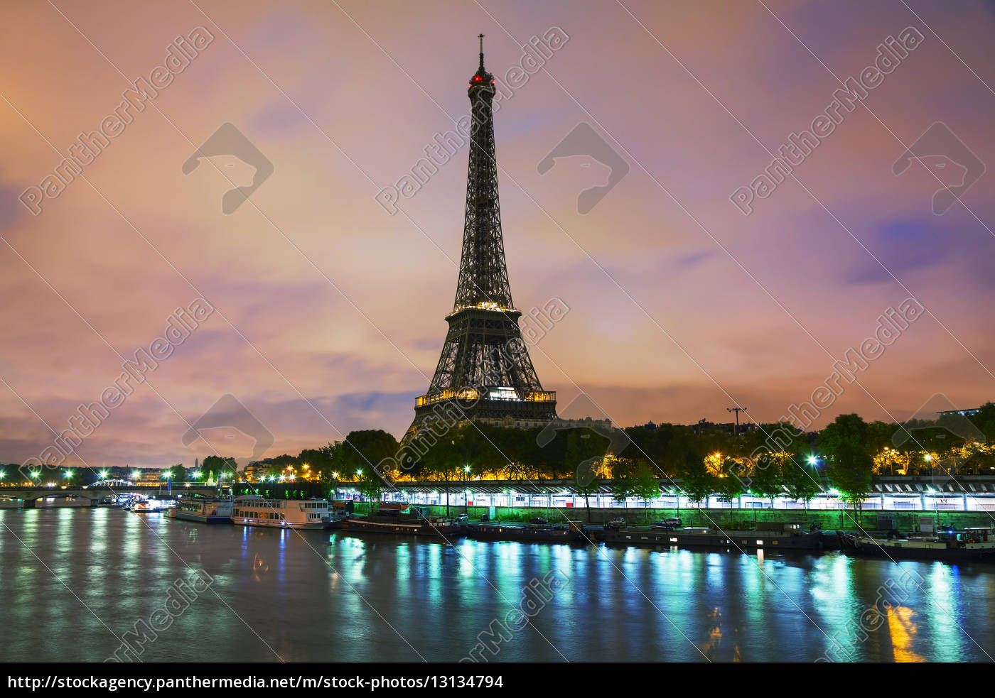 paris, cityscape, with, eiffel, tower - 13134794