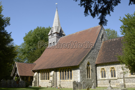 st peters kirke pa wherwell hampshire