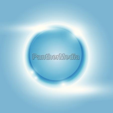 blu movimento in movimento bicchiere oggetto