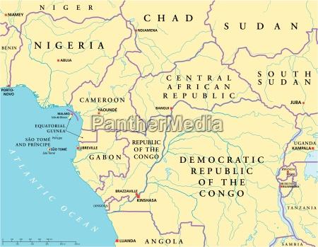 programma politico dellafrica centrale ad ovest