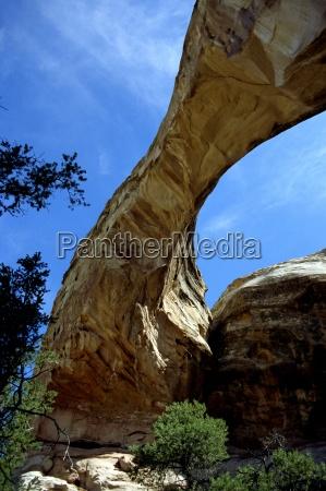 blu monumento parco nazionale ponte escursione