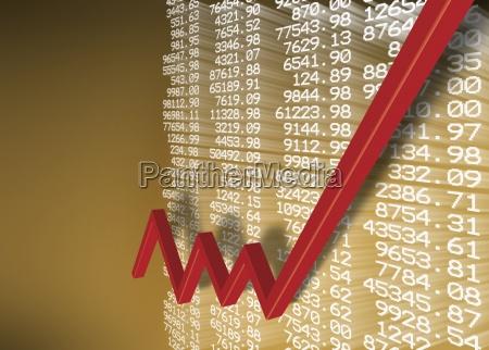 sopra in alto borsa stock exchange