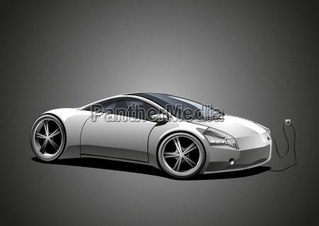 sportscar white ecomobile big