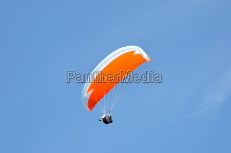 sport dello sport paracadute cielo firmamento