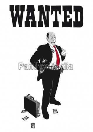 i banchieri arroganti che mostra il