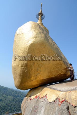 asia turismo budda rocce roccia visita