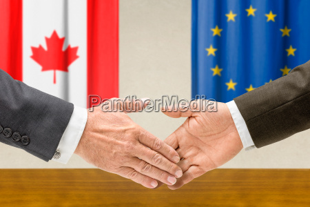 canada eu europe unione europea mani