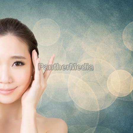 rosto beleza asiatica
