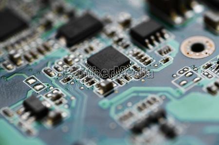 microcircuito elettronico