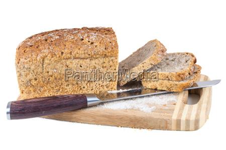 tagli il pane e la lama