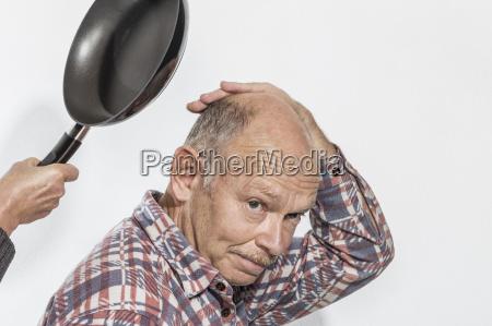 pericolo mano virile mascolino ritratto tenere