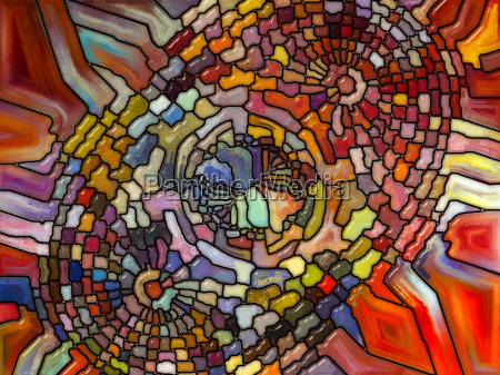 numeric stained glass