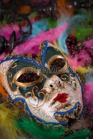 festa carnevale piuma mascherarsi