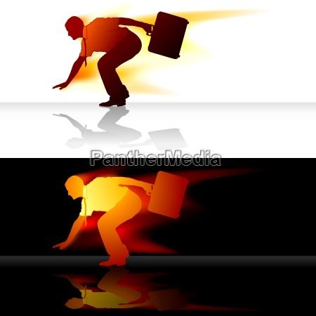 affare affari lavoro professione capo leader