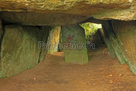 dolmen bretagna eta della pietra tomba