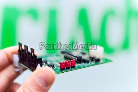 connsessione annessione circuito stampato fessura slot