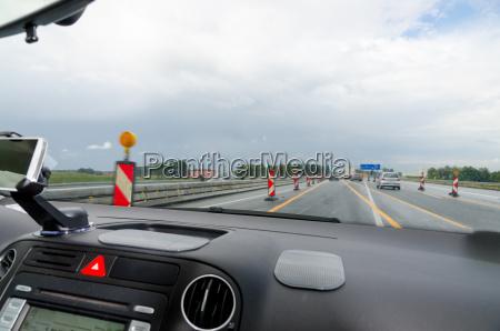 cabina di guida auto