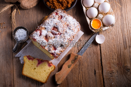 pane lavagna pannello primo piano torta