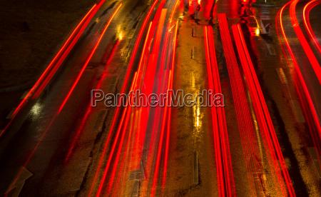 di notte luci auto veicolo mezzo