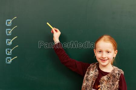lavagna pannello scolaro divertimento contentezza gioia