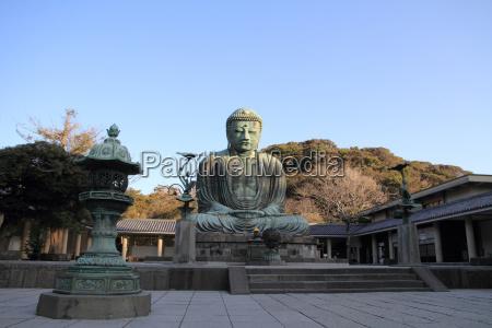 il grande buddha di kamakura in