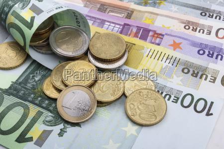 caucasico europeo europa monete affare affari