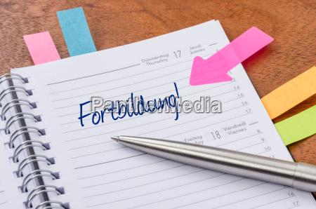 diario con suggerimenti formazione avanzata